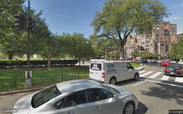 parking on Washington Cir NW in Washington