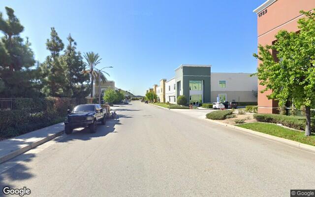 parking on West 2nd Street in Pomona
