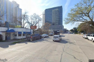 parking on West Avenue in Austin