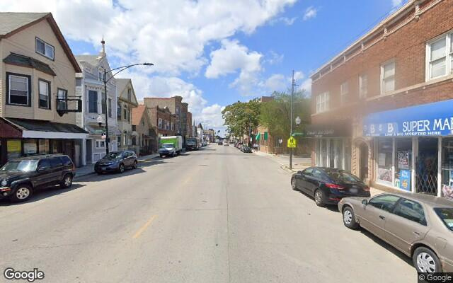 parking on West Belmont Avenue in Chicago