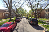 parking on West Dakin Street in Chicago