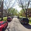 Garage parking on West Dakin Street in Chicago