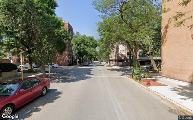 parking on West Eugenie Street in Chicago