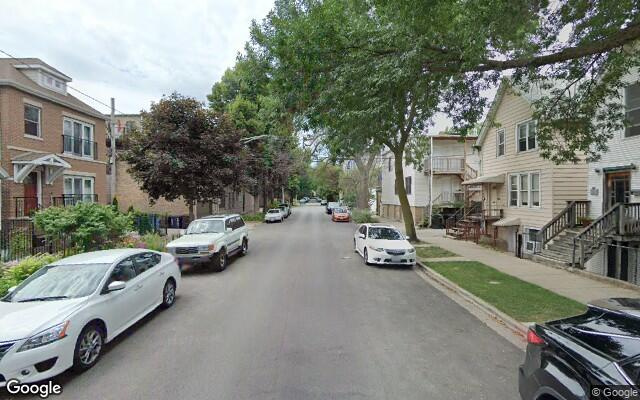 parking on West Moffat Street in Chicago