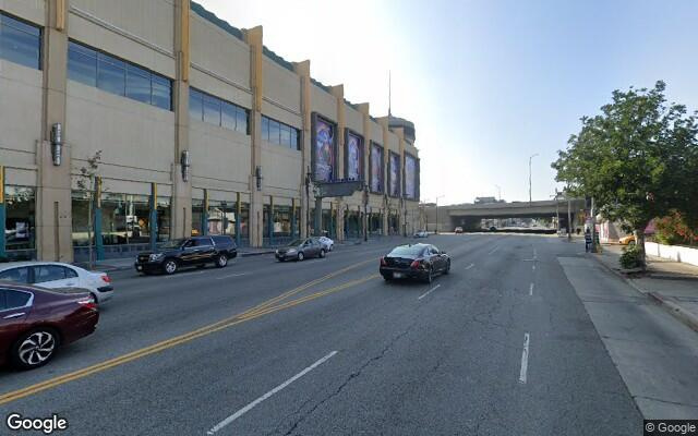parking on West Olympic Boulevard in Los Angeles