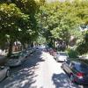 Garage parking on West Roscoe Street in Chicago
