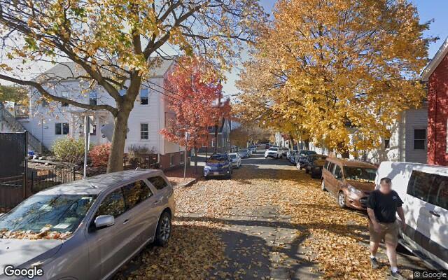parking on Winter Street in Cambridge