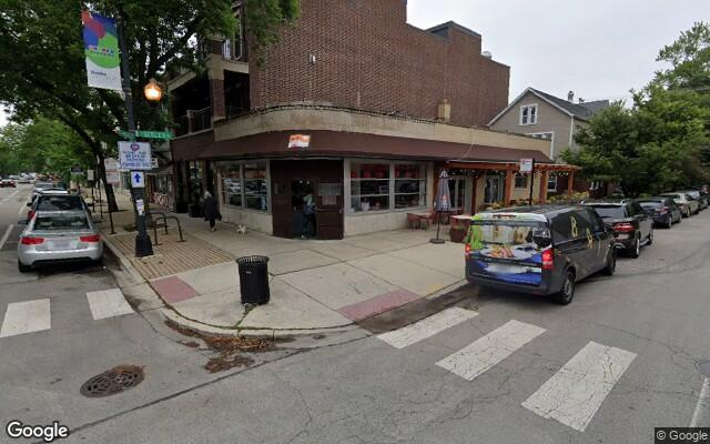 parking on West Roscoe Street in Chicago