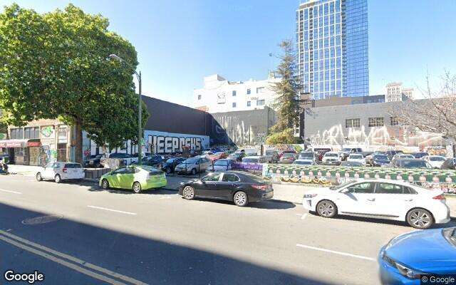 parking on 14th St in Oakland