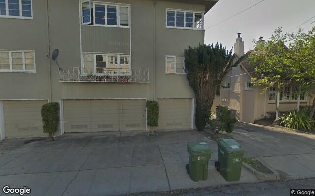 parking on Arch Street in Berkeley