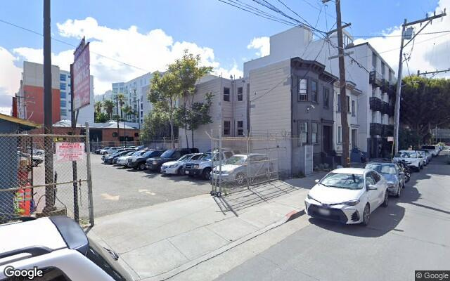 parking on Brannan Street in San Francisco