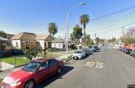 parking on Bridge Street in Los Angeles