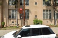 parking on Cheremoya Avenue in Los Angeles