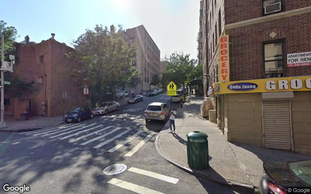 parking on Davidson Avenue in The Bronx