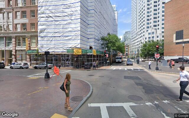 parking on Essex Street in Boston