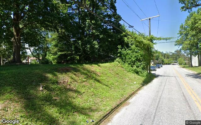 parking on Greenwood Road in Pikesville