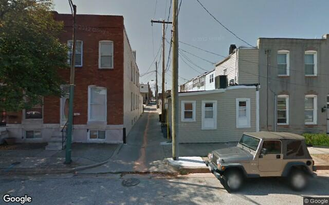 parking on Grundy St in Baltimore