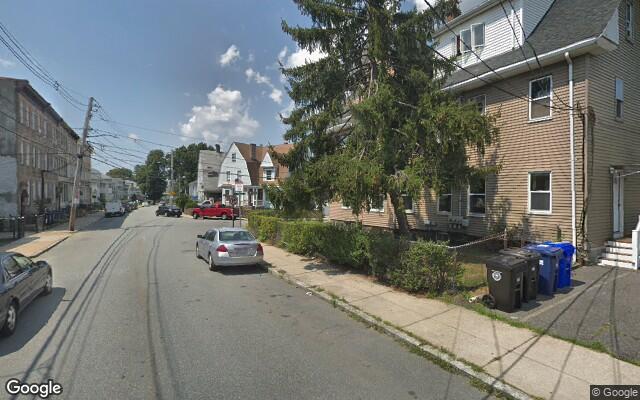 parking on Hooker Street in Boston