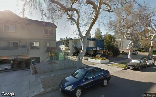 parking on Keystone Avenue in Los Angeles