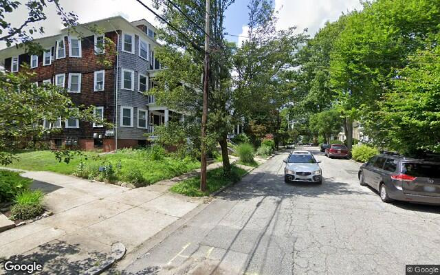 parking on Larch Street in Providence