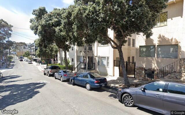 parking on Marine Street in Santa Monica