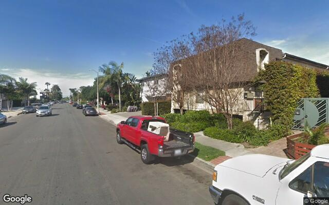 parking on Matteson Avenue in Los Angeles