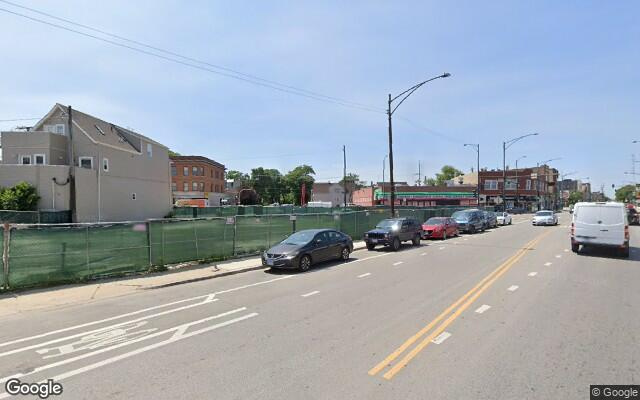 parking on North Elston Avenue in Chicago