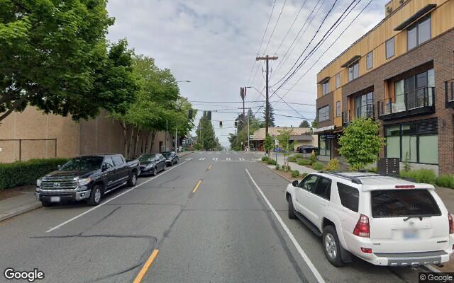 parking on Northeast 65th Street in Seattle
