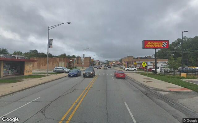 parking on Ogden Ave in Brookfield