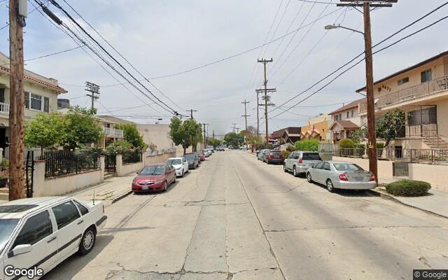 parking on Prospect Avenue in Los Angeles