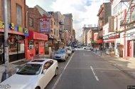 parking on Race Street in Philadelphia