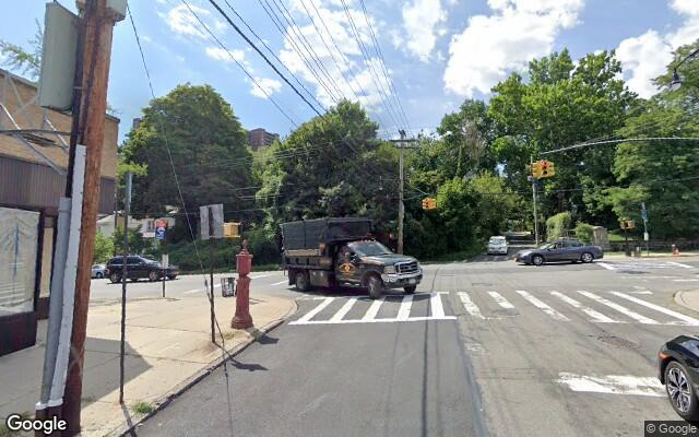 parking on Riverdale Avenue in The Bronx