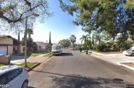 parking on Sunburst St in Panorama City