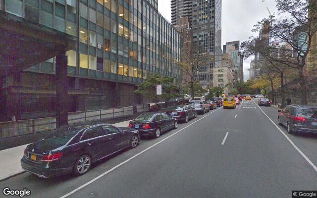 parking on United Nations Plz in Manhattan