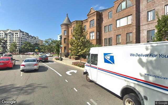 parking on Washington Circle Northwest in Washington