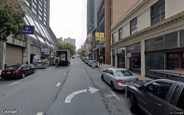 parking on Washington St in San Francisco