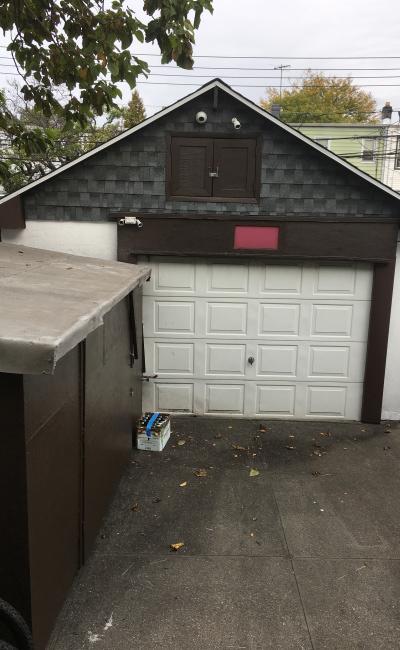 Garage parking on 93rd Street in Queens