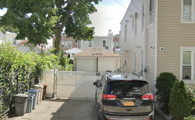 Driveway parking on 87-25 135th Street in Queens