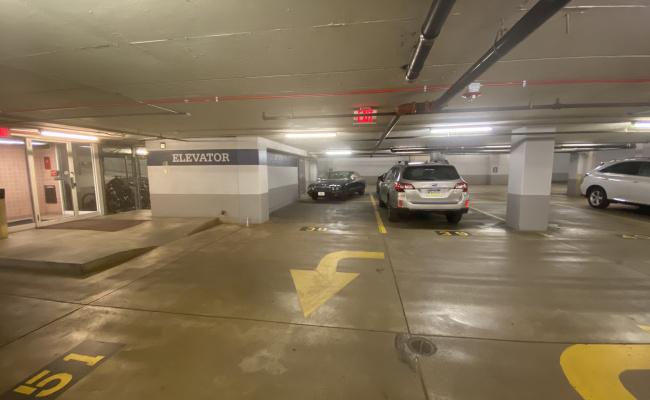 parking on 23rd Street Northwest in Washington