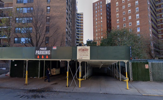 Covered parking on 62-60 99th Street in Queens