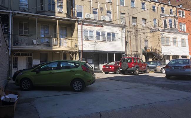 Outdoor lot parking on 805-807 Saint Paul Street in Baltimore