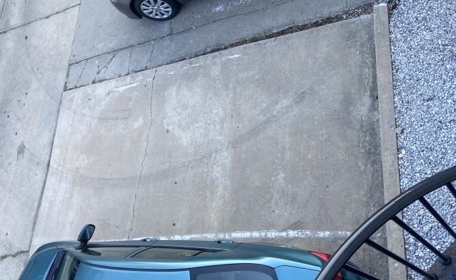 Outside parking on Adams Street Northeast in Washington