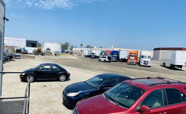 Indoor lot parking on Aragon Circle in Buena Park