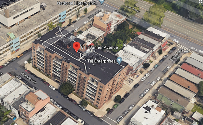Garage parking on Banner Avenue in Brooklyn