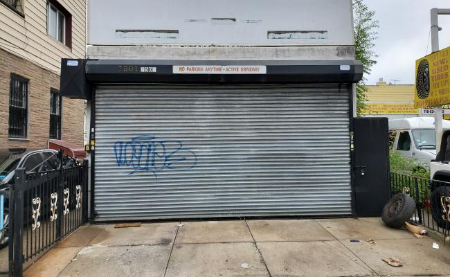 Garage parking on Bay Ridge Parkway in Brooklyn