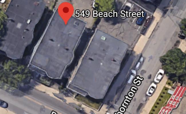 Outside parking on Beach Street in Revere