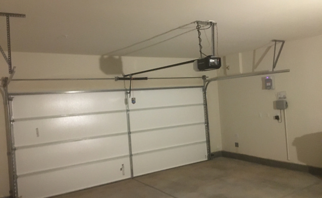 Garage parking on Big Country Court in Menifee