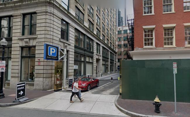 parking on Broad Street in Boston