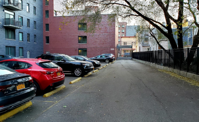 Outdoor lot parking on 12-15 Broadway in Astoria