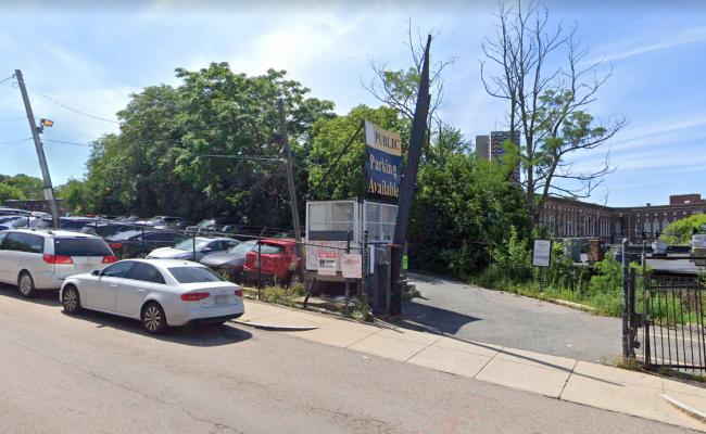 Outside parking on Calumet Street in Roxbury